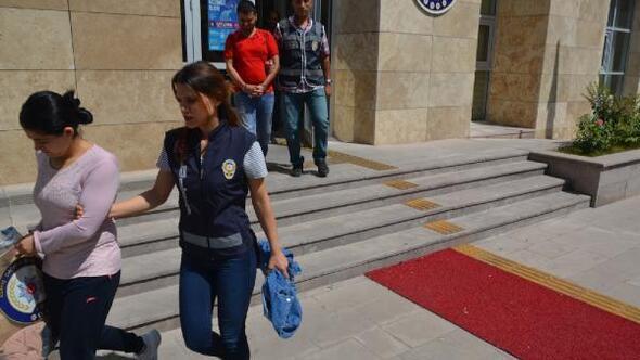 Dini nikahla evlendiği kişileri ilk gece terk edip, dolandıran kadın tutuklandı