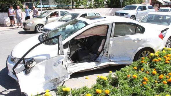 Burdurda trafik kazası: 2 yaralı
