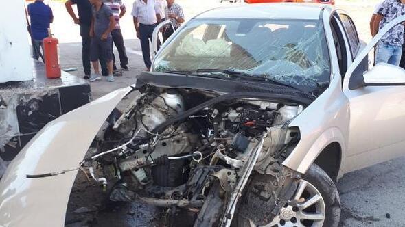 Kontrolden çıkan otomobil takla attı: 4 yaralı