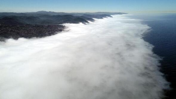 Zonguldakta sis etkili oldu