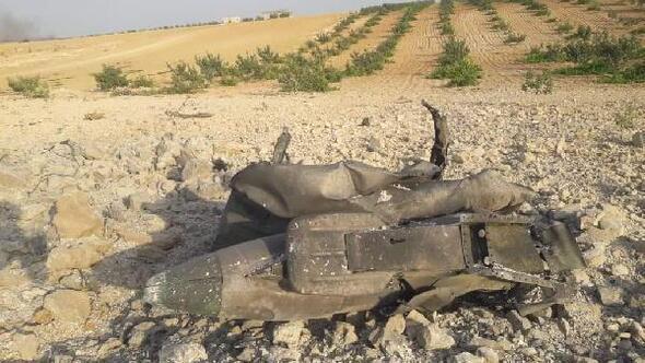 İdlibde rejime ait savaş uçağı düşürüldü iddiası