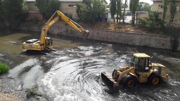 Ankara Çayı'nda kurban temizliği