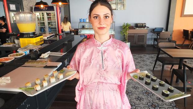Bandırma'da bir restoran yaptı! Balıkesir'in ilk suşi restoranı