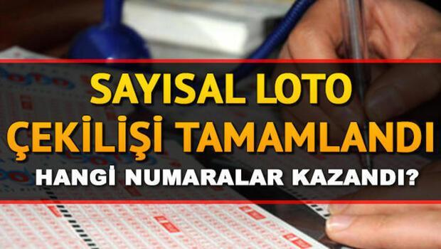 Sayısal Loto çekiliş sonuçları açıklandı.. MPİ 27 Temmuz Sayısal Loto sonuç sorgulama
