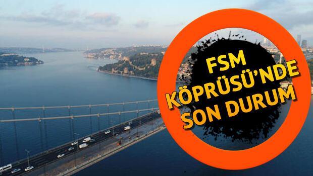 Fatih Sultan Mehmet Köprüsü'ndeki (FSM) çalışmalar ne zaman bitiyor?