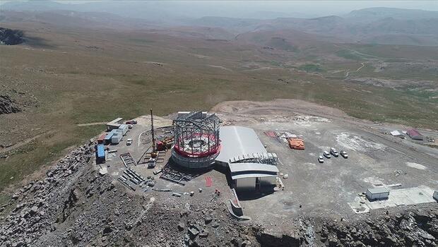 Doğu Anadolu Gözlemevinde altyapı çalışmaları tamamlandı