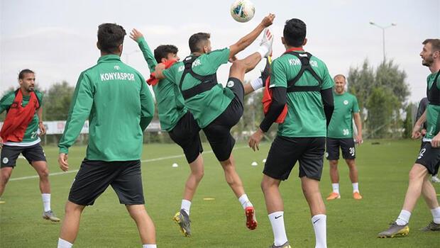 Konyaspor, Galatasaray mesaisine ara vermeden başladı
