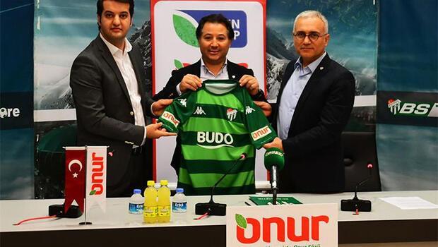 Onur Market'ten Bursaspor'a sponsor desteği