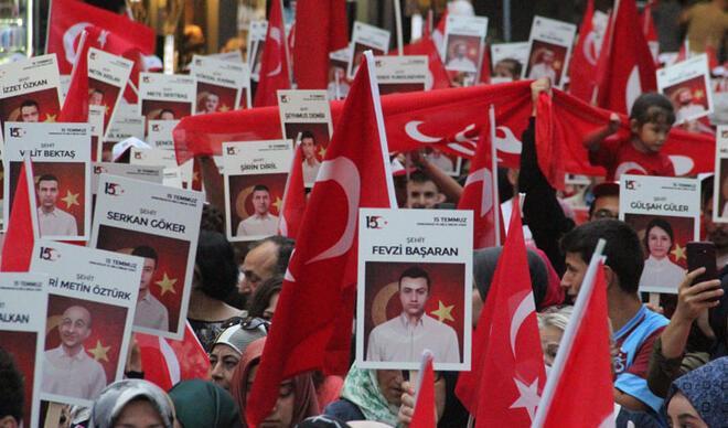15 Temmuz'un 3. yılında Türkiye ayakta!