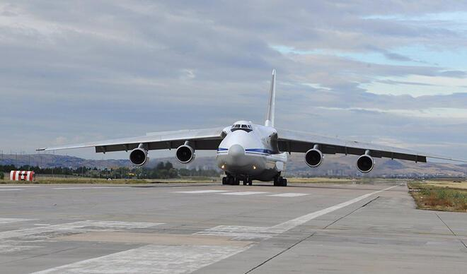S-400 sevkiyatı kapsamında 11'inci uçak Mürted'e indi