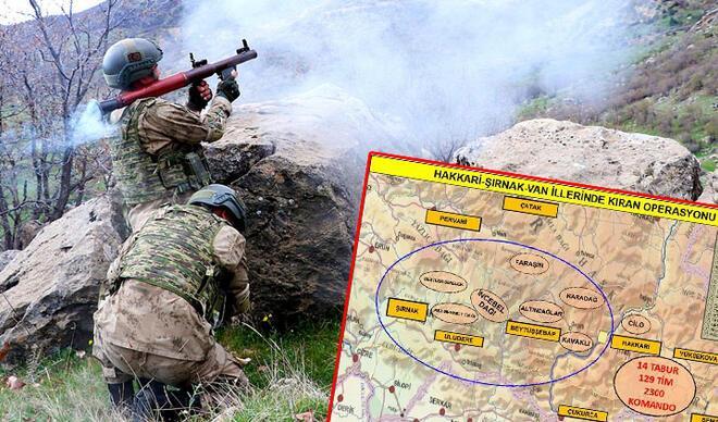 PKK'ya 'Kıran Operasyonu'
