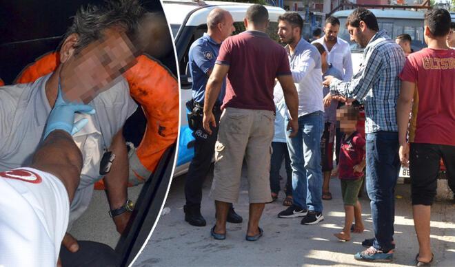 Korkunç olay! 6 yaşındaki kızının taciz edildiğini balkondan gördü…