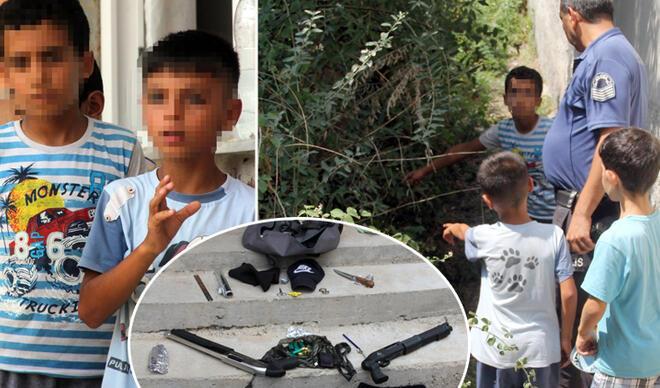 Sokakta oynayan iki kardeş buldu! Faciadan dönüldü…