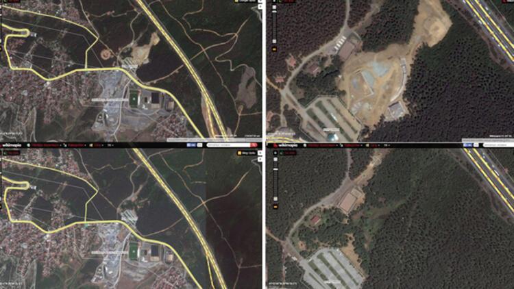 CHP'den Elmalı Kent Ormanı'nda yüzbinlerce ağaç kesildi iddiası