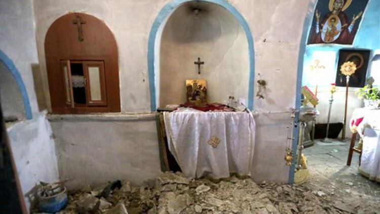 Gökçeada'da kilise kullanılamaz hale geldi
