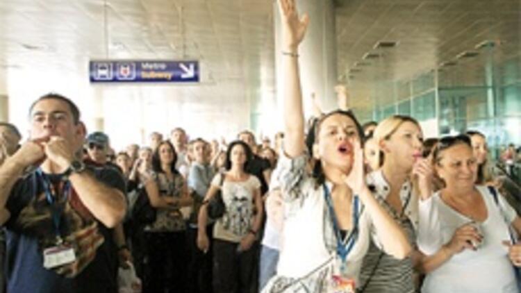 'Hava'ya grev yasağı geldi, Erdoğan THY yönetimini haklı buldu