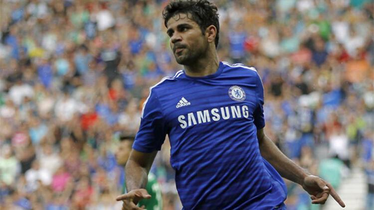 Chelsea'de Diego Costa sakatlandı