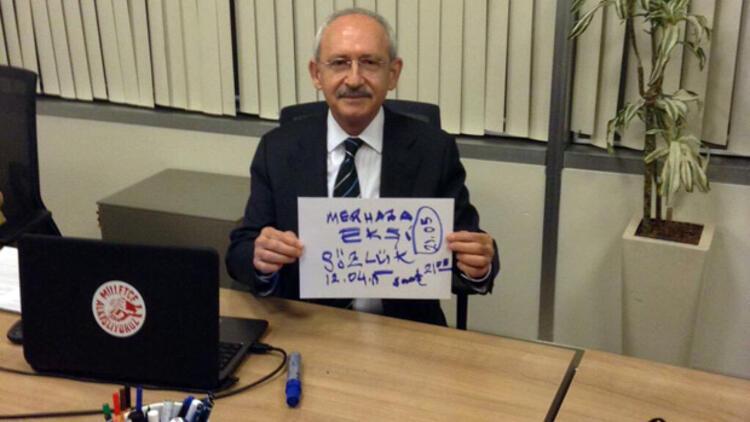 CHP Genel Başkanı Kemal Kılıçdaroğlu, Ekşi  Sözlük'te  soruları yanıtladı