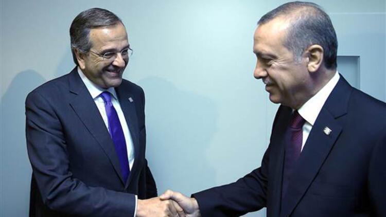 Erdoğan ve Samaras arasında Kıbrıs polemiği