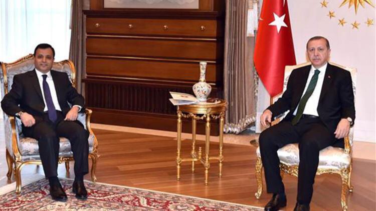 Erdoğan, Zühtü Arslan'la görüştü