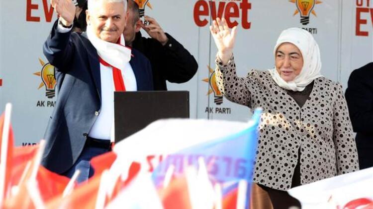 Başbakan Yıldırım:  'Evet' çıkarsa Türkiye bölünecekmiş hadi oradan.