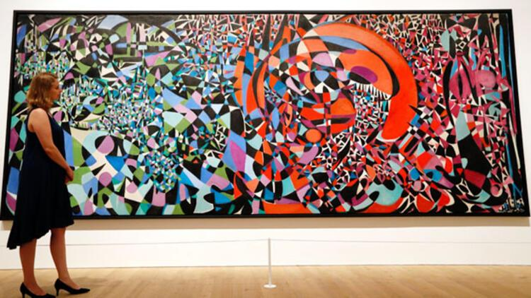 Zeid'in eserleri  Berlin'de sergileniyor