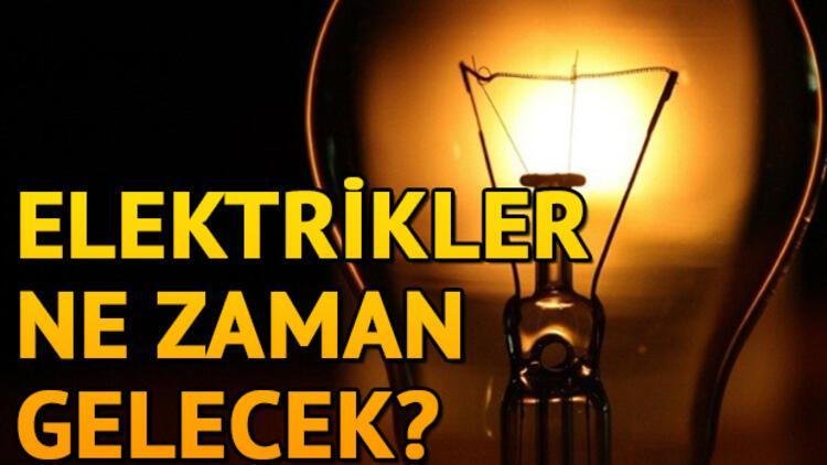 12 Mart İstanbul elektrik kesintisi! İstanbul'da elektrikler ne zaman gelecek?