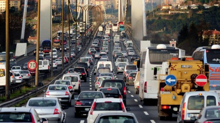 Trafiğe kayıtlı araç sayısı 22,3 milyon oldu