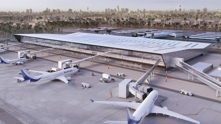 Dev havalimanı 21 ayda tamamlandı