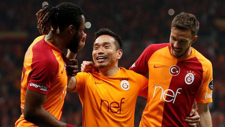 Galatasaray derbide para bastı!