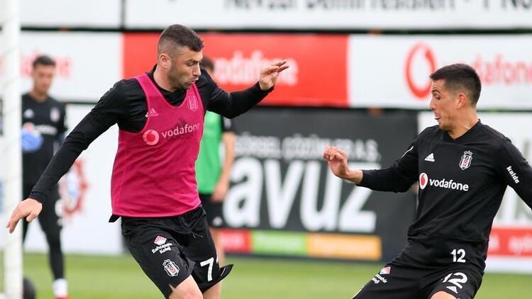 Beşiktaş'ta Alanyaspor hazırlıkları sürüyor!