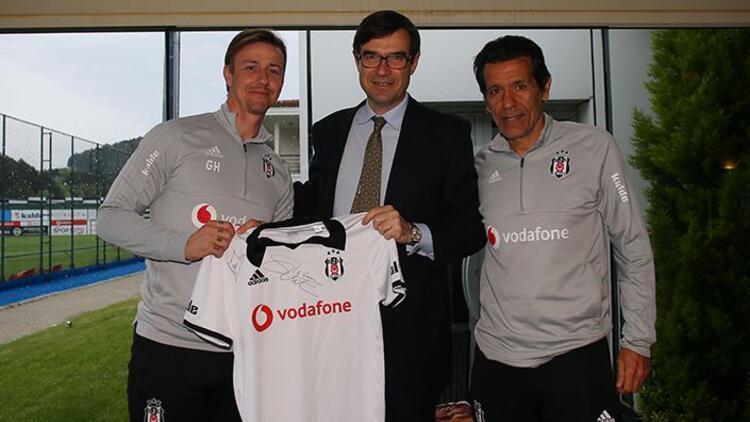 İspanya'nın Ankara Büyükelçisi, Beşiktaş'ı ziyaret etti!