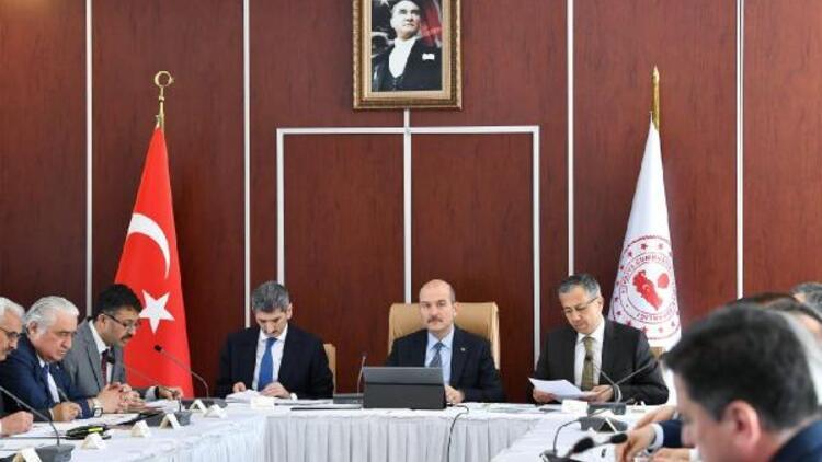 İstanbul'da 23 Haziran seçim güvenliği toplantısı yapıldı