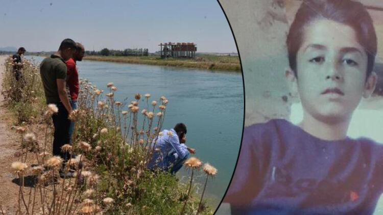Serinlemek için sulama kanalına giren çocuk kayboldu