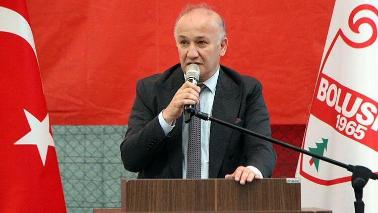Boluspor'da başkan yeniden Necip Çarıkcı