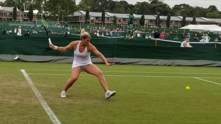 Başak Eraydın, Wimbledon'a veda etti