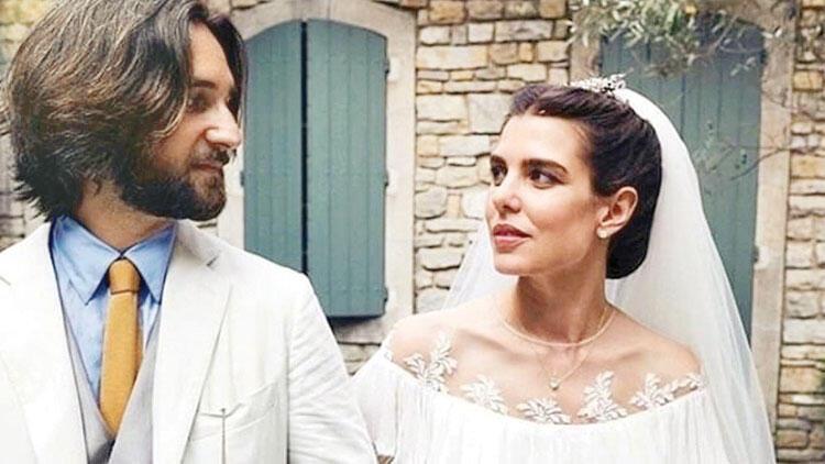 Kilisede evlendi