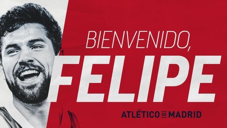 Felipe resmi imzayı attı! Porto'dan Atletico Madrid'e...