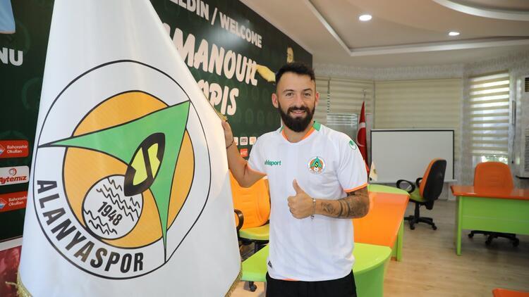 """Alanyaspor, Emmanouil """"Manolis"""" Siopis'le 3 yıllık sözleşme imzaladı!"""