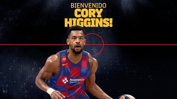 Cory Higgins resmen Barcelona'da! 3 yıllık sözleşme...