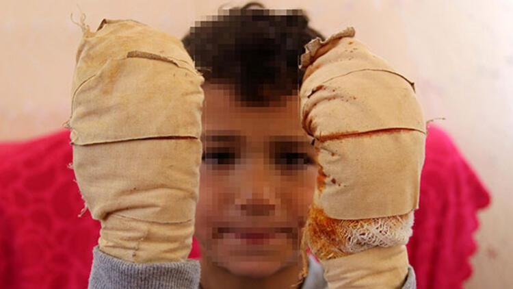 Efe'ye dehşeti yaşattı! Ağlamasını duyan komşuları yetişti