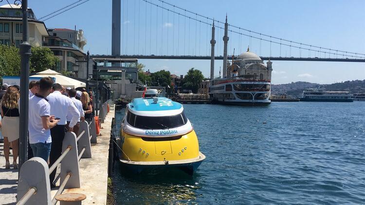 Deniz Postası İstanbul'da hizmete başladı