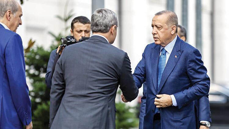 Erdoğan'dan parti mesaisi
