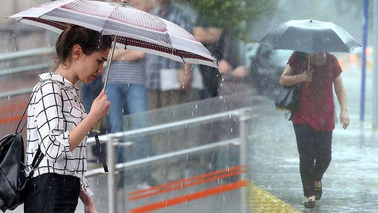 Son dakika... Meteoroloji'den şiddetli yağış uyarısı