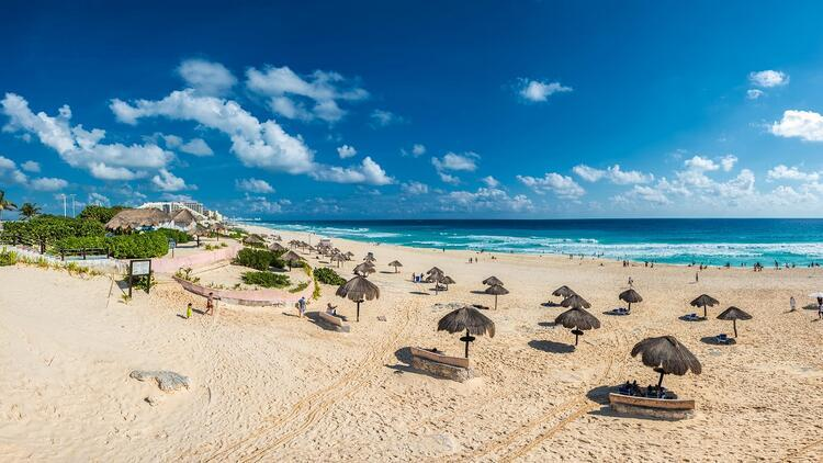 Meksika'nın plaj cenneti: Cancun