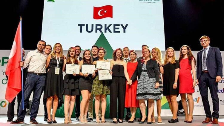 Liselilerin iş projesi Avrupa birincisi oldu