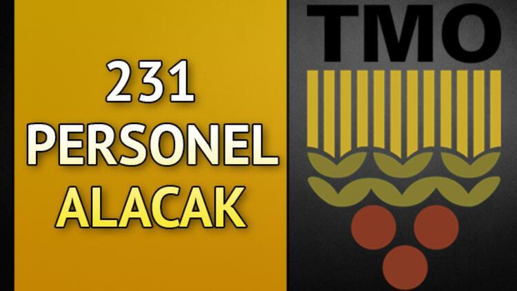 TMO personel alımı ile 231 kişiyi istihdam edecek!
