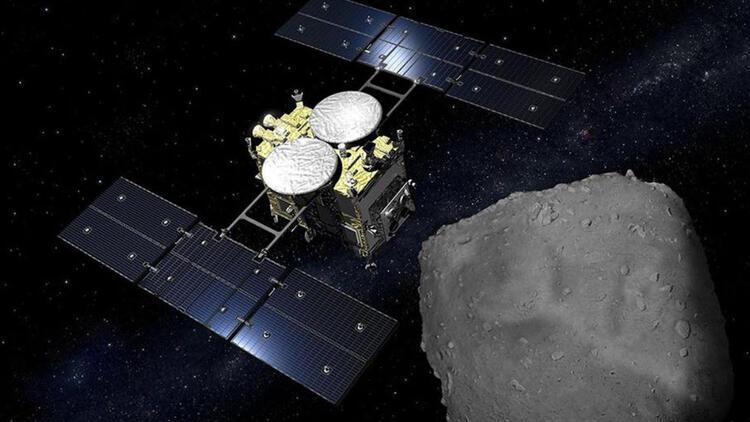 Japon uzay aracı Ryugu asteroidine ikinci inişini yaptı