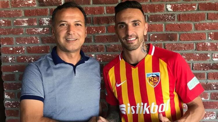 Transfer haberleri | Kayserispor Miguel Lopes'e imzayı attırdı