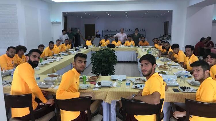 Galatasaray'da pide partisi